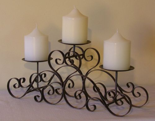 Iron Candle Stand Designs : Wrought iron furniture and accessories home designs project