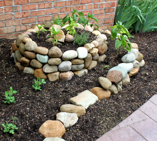 How to make a small vegetable garden home designs project for How to landscape a garden