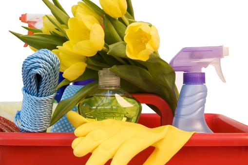 How to Do the Spring Cleaning with Natural Cleaners