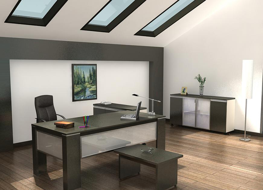 furnishing your office with contemporary office furniture home