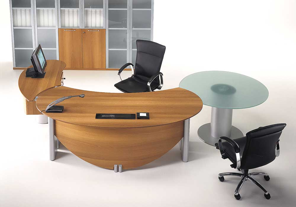 Furnishing Your Office With Contemporary Office Furniture Home Designs Project