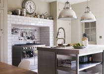 industrial-style kitchen