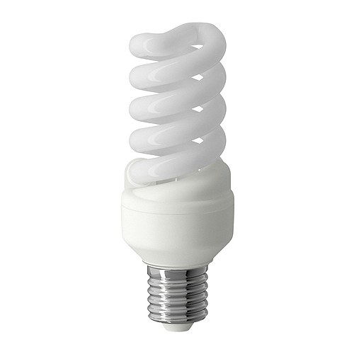 low-wattage bulb