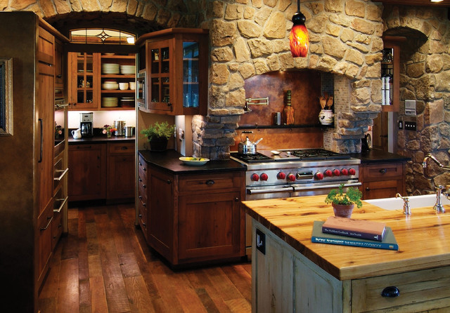 Rustic Kitchen Interior Design Ideas