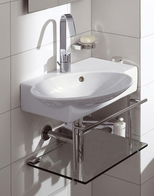 Sink Small Bathroom : Corner bathroom sink designs for small bathrooms Home Designs ...