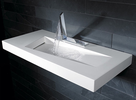 Modern Bathroom Sinks with Unusual Design