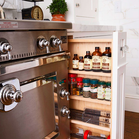 Five Smart Kitchen Storage Suggestions